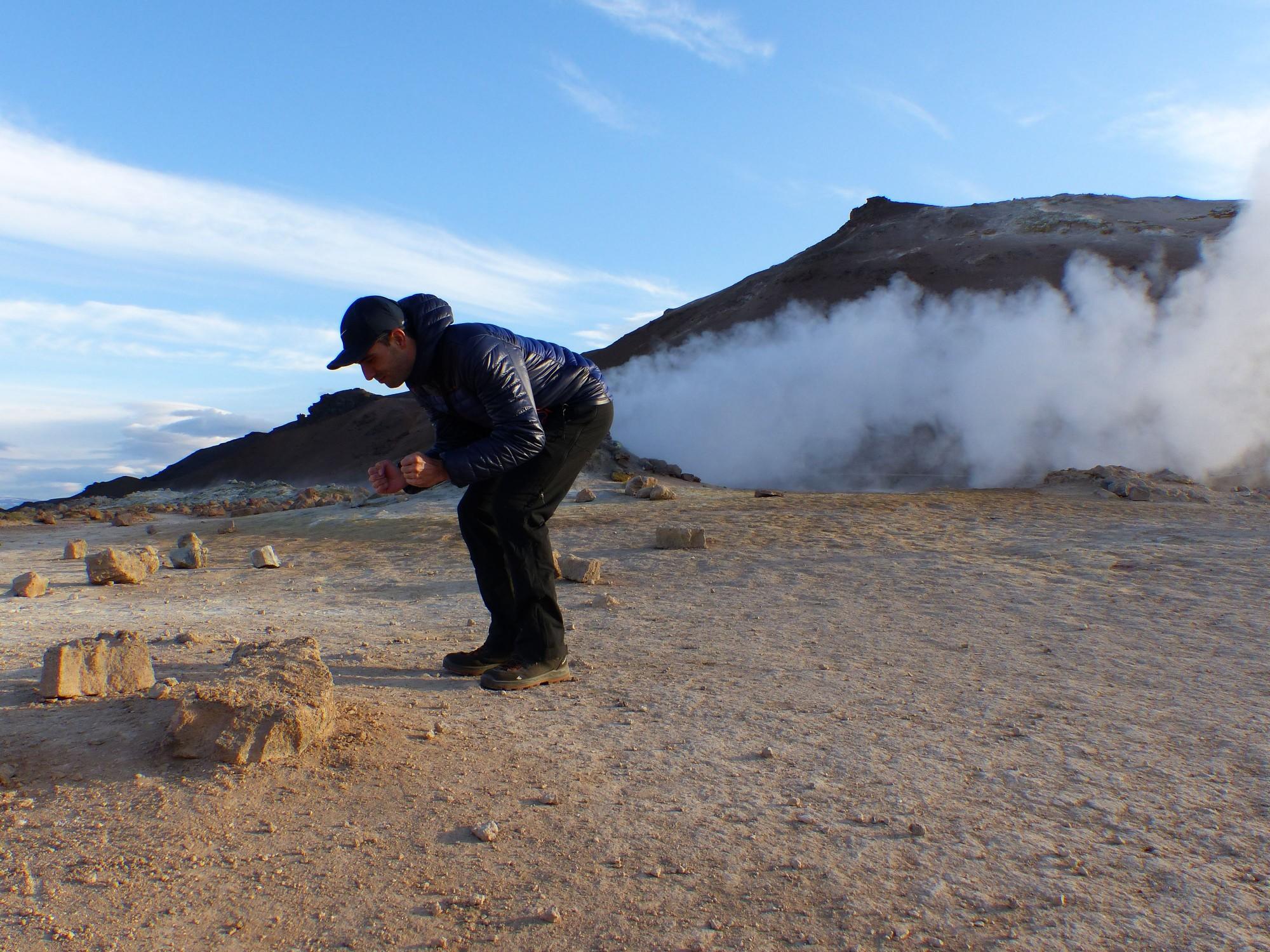 Fumarolas sulfurosas de Hverir (Islandia)