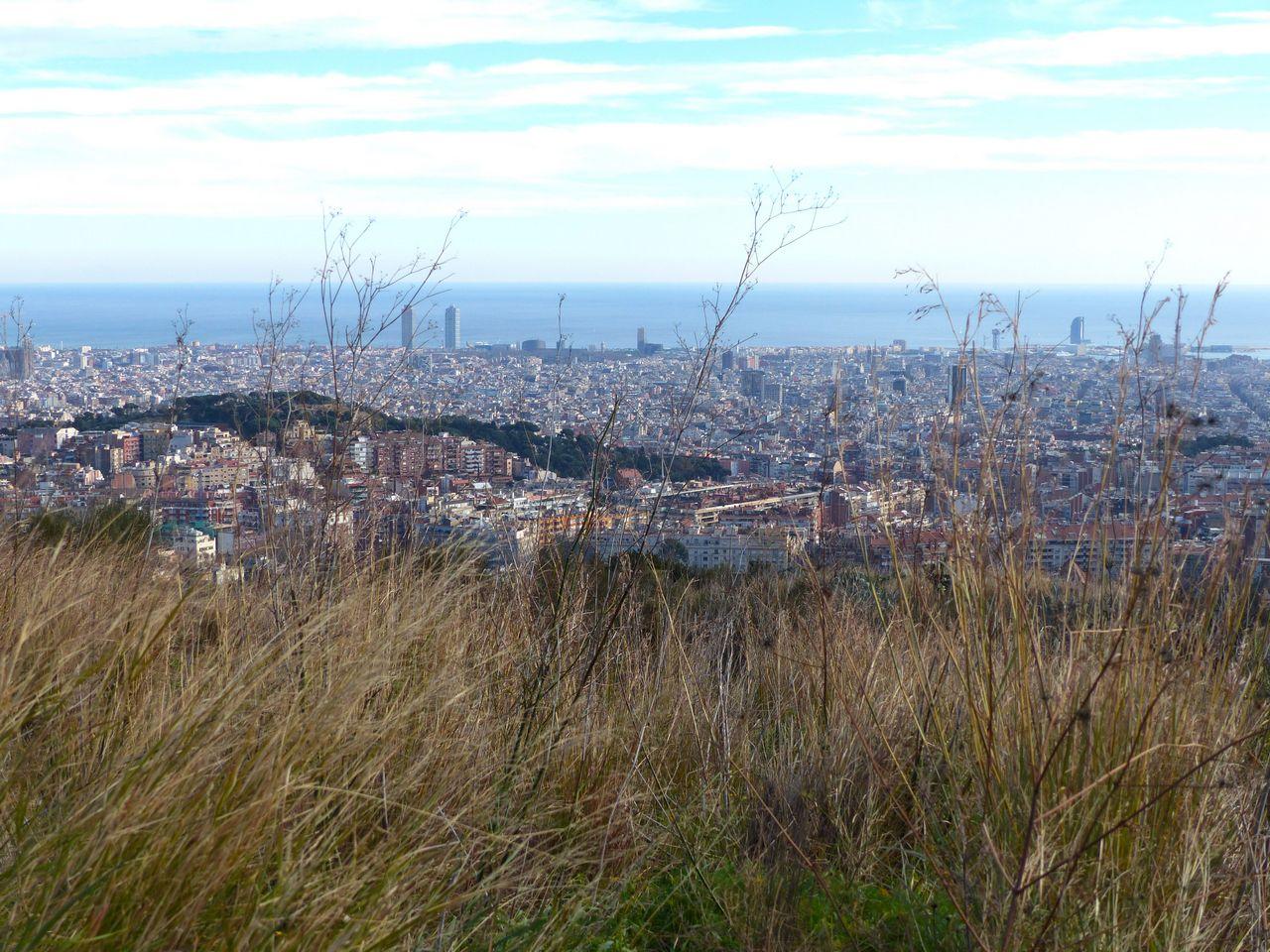 Vistas de Barcelona desde la Carretera de les Aigües