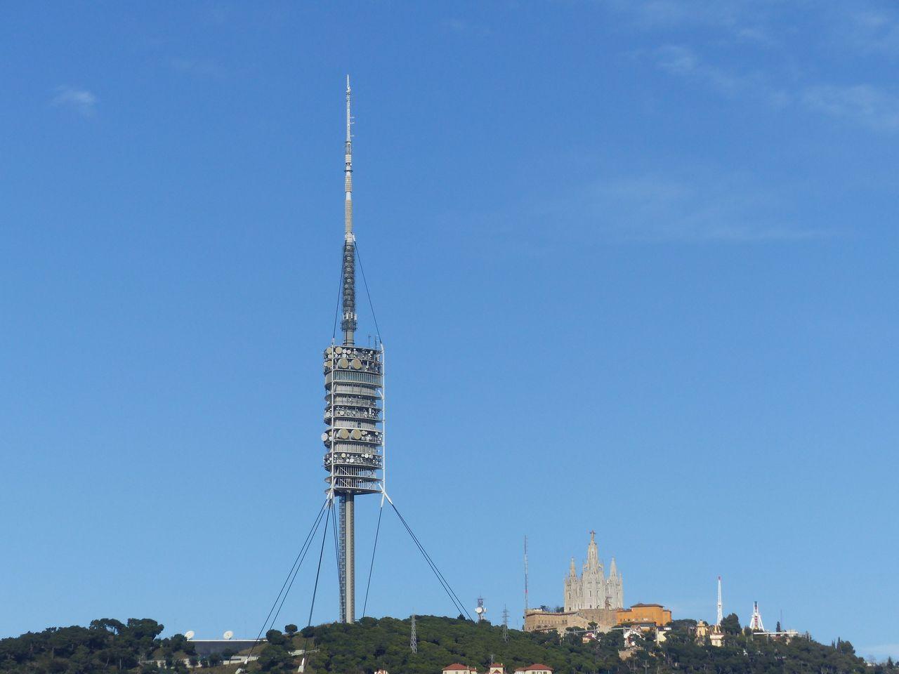 Torre de Collserola y Tibidabo